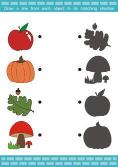 Perfect for autumn, this free printable activity sheet is ideal for young learners. Have your student name all the autumn pictures on Preschool Worksheets, Preschool Learning, Learning Activities, Activities For Kids, Teaching, Paper Airplanes Instructions, Fall Crafts, Crafts For Kids, Montessori Math