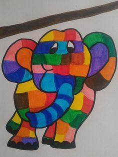 Elmer l'elefantino variopinto