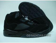 http://www.getadidas.com/air-jordan-retro-5-all-black-livraison-gratuite.html AIR JORDAN RETRO 5 ALL BLACK LIVRAISON GRATUITE Only $65.00 , Free Shipping!