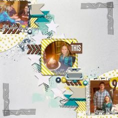 Digital Layout | Feb 2017 Storyteller by Just Jaimee
