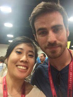 Colin O'Donoghue at San Diego Comic-Con July 25, 2014.