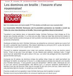 Merci à Tendance ouest pour leur article page 6 http://www.tendanceouest.com/publications/rouen/21-08-2014/index.html