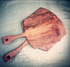 Hand Made Solid Mesquite Wood Pizza Peel / by SunKinTreasures