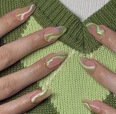 Nagellack Design, Nagellack Trends, Stylish Nails, Trendy Nails, Nails Ideias, Acylic Nails, Funky Nails, Fire Nails, Minimalist Nails