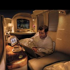 Private suite @ fly emirates