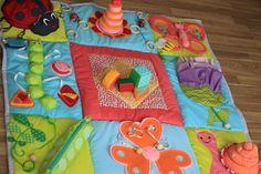 Купить Развивающий коврик Яркое Лето - развивающий коврик, развивающая игрушка, развивайка