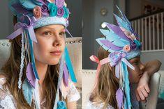 Baby Indian Headdress Baby Headdress Feather Crown Tribal | Etsy