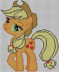 The first pattern I made. The hair outline is a dark color to be visible when printed. The first version was dark yellow, but was very hard to tell it apart from the yellow of her hair. I planned t...