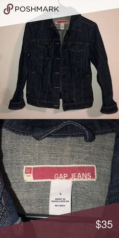 29de93d95c5d3 GAP Denim Jacket Denim jacket in great condition Loved this piece just do  not have room in my closet anymore