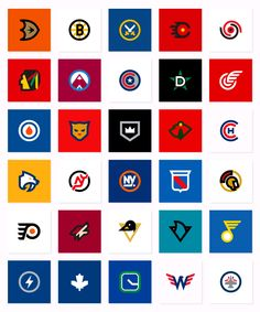 Minimalist NHL logos Extra 8% off code: SW8SNS for NHL 15 coins on safewow.com