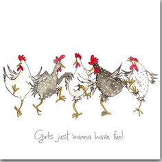Dare To Be Different Greeting Card - Funny Chicken Card, Friendship, Hens - Wagen Sie zu verschiedenen Grußkarte lustiges Huhn Karte Birthday Cards For Her, Birthday Greeting Cards, Diy Birthday, Birthday Greetings, Card Birthday, Funny Birthday, Animal Birthday, Birthday Images, Chicken Humor