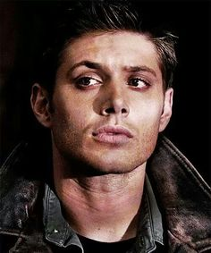 Dean Winchester. For those of you who have read The Outsiders by S.E. Hinton -- that's what this picture immediately reminded me of.