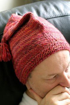 Ganomy Hat by Elizabeth Zimmerman ... Quick, fun, genius design!