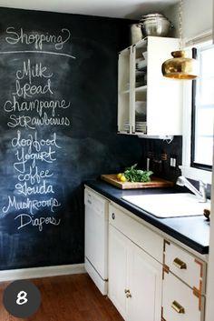 Chalkboard Paint | @Mindy CREATIVE JUICE | @getcreativejuice.com