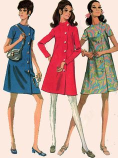 1960 Vintage Sewing Pattern McCalls 2086 MadMen by sandritocat, $10.00