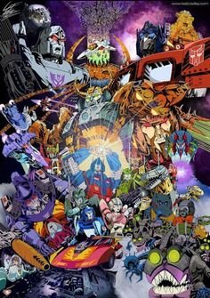 Interesting how it's Ultra Magnus with the Matrix, considering we know it didn't work for him. It should be Rodimus...unless this pic is for those who don't know how this movie turns out!