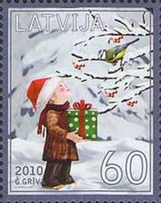 ♥ ◙ Latvia, Postage Stamp. ◙