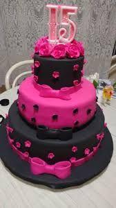 Resultado de imagem para tema  de  15  anos  rosa  e preto