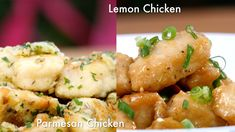 Garlic Parmesan Chicken  Serves:4 Ingredients • 2 boneless, skinless chicken breasts, cut into strips • ½ cup of all purpose flour • ½ tsp of salt • 1tbsp Thyme • ½ tsp of pepper • 3 – 4 tbsp of butter • 5 cloves of garlic, chopped • ¼ cup of freshly chopped parsley …