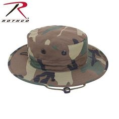 19e57d997a80f ROTHCO WOODLAND BOONIE HATS SIZE 7 1 2  fashion  clothing  shoes  . Army  Navy SurplusMilitary ...
