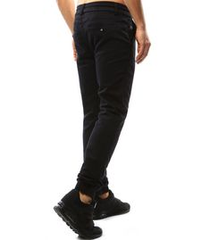 Pánske čierne joggery Black Jeans, Pants, Fashion, Moda, Trousers, Women Pants, Women's Pants, Fasion