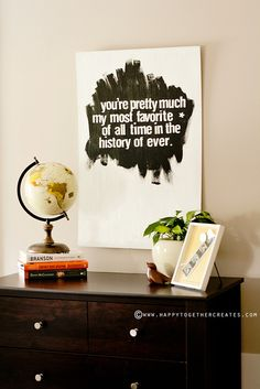 Wall Art by ohsohappytogether, via Flickr