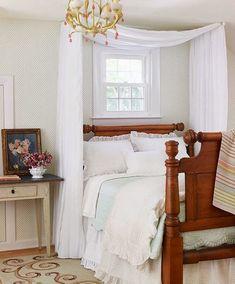 Sweet home: Балдахин в интерьере спальни: 60 идей