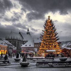 2016 Christmas Holiday in Romania. Book now at special offers this wonderful christmas holiday tour . Christmas Tours in Romania with RomaniaToGo Private Tours. Places Around The World, The Places Youll Go, Places To See, Around The Worlds, Brasov Romania, Beautiful Places, Beautiful Pictures, Winter Christmas, Christmas Trees