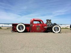Afternoon Drive: Hot Rods & Rat Rods Photos) A hot rod is a specific type of automobile that has been modified to produce more power for racing straight ahead. The hot rod originated in the early. Hot Rod Trucks, Cool Trucks, Cool Cars, Dually Trucks, Chevy Trucks, Pickup Trucks, Diesel Trucks, Semi Trucks, Big Trucks
