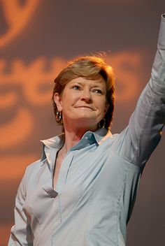 Pat Summitt. Legend. Most successful basketball coach in the history of college sports, female OR male.
