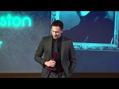 He makes me giddy, yes he does    Jameson Empire Awards 2012 Tom Hiddleston Speech.