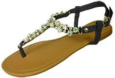 Womens T Strap Gladiator Sandals Flats shoes W/Iridescent Rhinestones (6347 5/6, Black) Anig http://www.amazon.com/dp/B00HFX1PPO/ref=cm_sw_r_pi_dp_0px9ub1NSCJVD