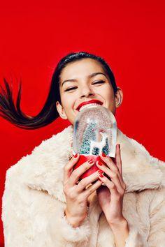 Christmas Day Outfit, Christmas Fashion, Xmas, New Year Photoshoot, Christmas Editorial, New Year Art, Christmas Campaign, Christmas Aesthetic, Holiday Mood