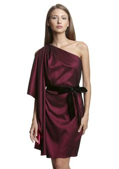 MARK + JAMES One-Shoulder Mini Dress