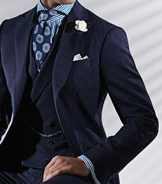 For The Love of Phineas: Paul Stuart - Wool Pinstripe Phillip Suit