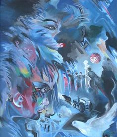 Luangrath Kongphat - artist painter from Laos Lao PDR