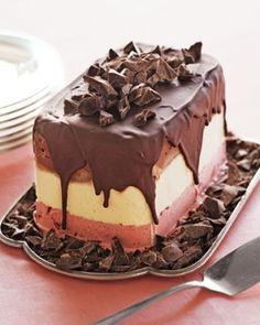 Ice scream cake