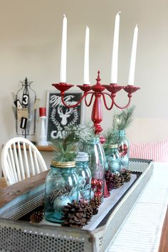 Delightfully Noted: Christmas Home Tour: Part 1
