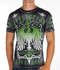 Affliction Miser T-Shirt, hmm I like it for my babe(: