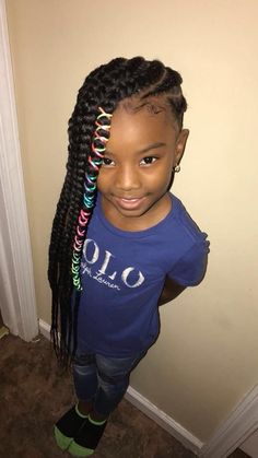 696 Best Kids Natural Hairstyles Images In 2019 Braids For Kids