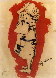 Yvonne (in kimono) -   Marcel Duchamp 1901