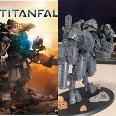 TitanFall and Tau mash-up !