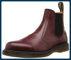 750d73181c1c6a Dr martens 2976 smooth last 261 scarpe a collo alto unisex adulto rosso.  Men s BootsDr Martens OriginalUnisexCherry RedLinkDoc MartensChelsea ...