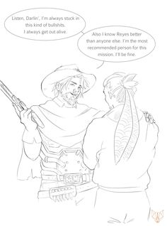 I hum made a Mchanzo comic. You can read it on my tumblr page http://nyimeryia.tumblr.com/post/150229812542/mccree-had-to-go-on-a-solo-mission-hanzo-is mchanzo hanzo hanzoshimada mccree Jessemccree overwatch