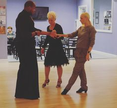 Dancing with Snow Urbin at Arthur Murray Royal Oak! She was on #Dancing with the #Stars ,she appears in #music #videos with #Madonna and #Shakira, and she's one of our favorite #ArthurMurray #dance #instructors! Snow Urbin