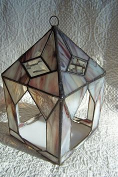 Stained Glass Bird Feeder by WildFog on Etsy, $68.00