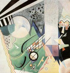 © Vasilij Vasil'evič Kandinskij detto Vasily Kandinsky - Composizione verde (1923)