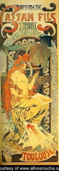 Cassan Fils, 1895 - Alphonse Maria Mucha - www.alfonsmucha.org