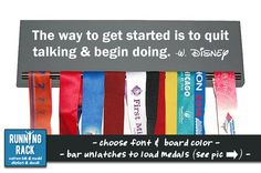The Way to Get Started is to Quit Talking & Begin por RunningRack