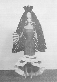 Doll Clothes Knitting & Crochet Pattern Book For The by dianeh5091
